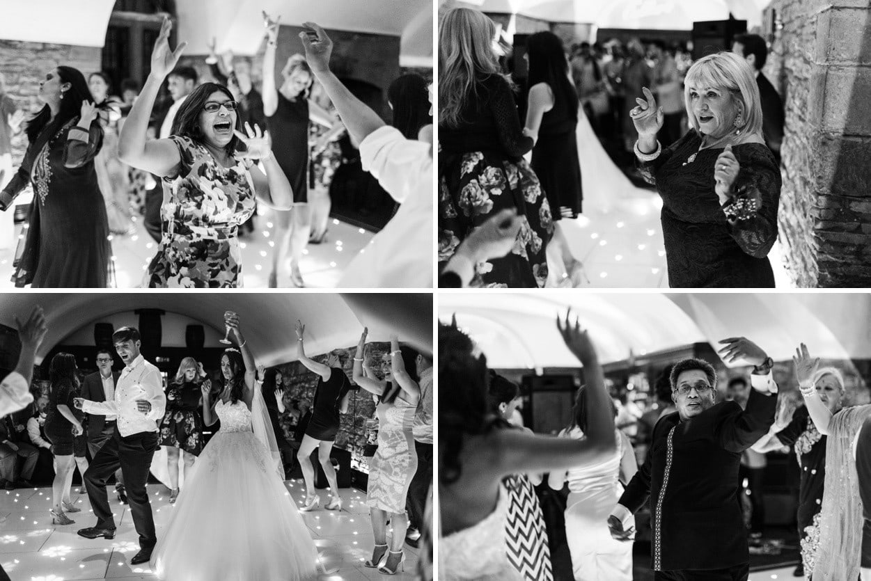 wedding dancing at clearwell castle