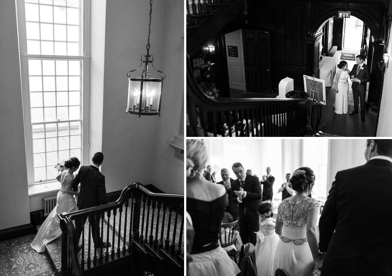 Wedding reception at Llanelly House, South Wales