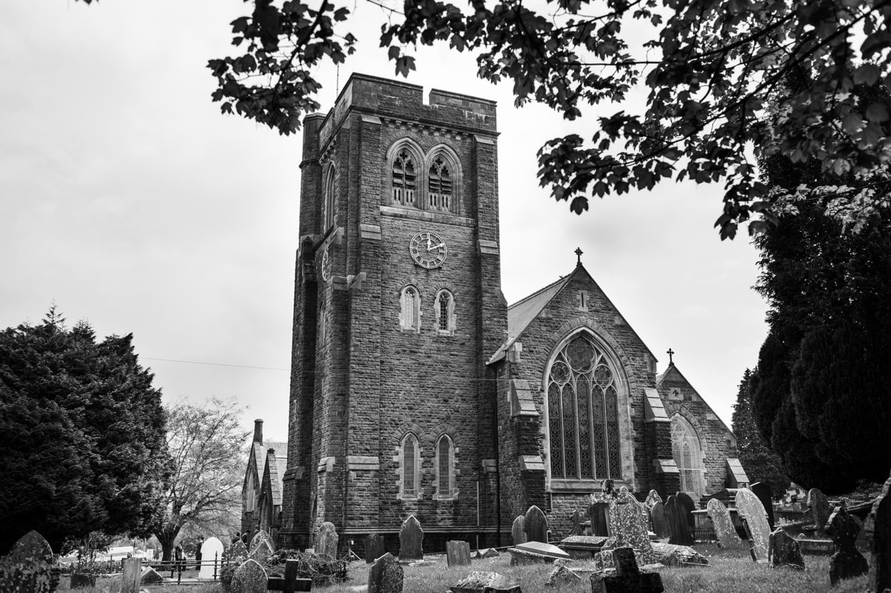 St Martins Church in Caerphilly South Wales