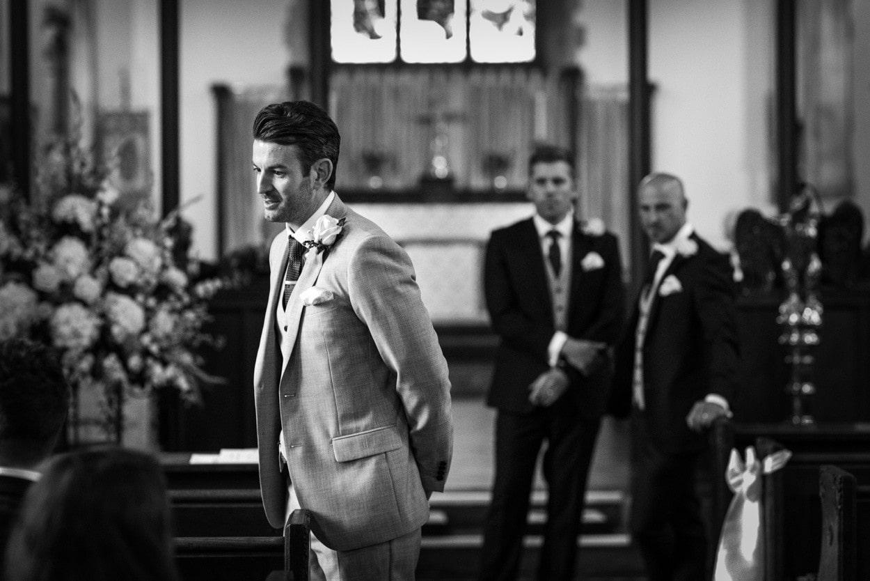 Wedding at Christ Church in Radyr
