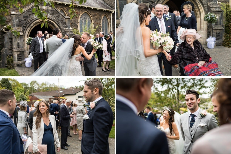 Wedding at Christ Church in Radyr in South Wales