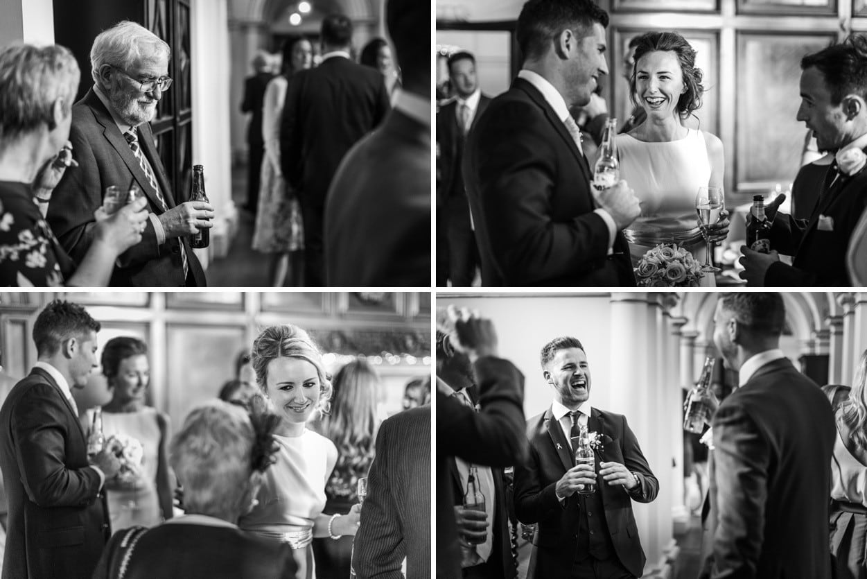 Wedding reception at Hensol Castle, South Wales