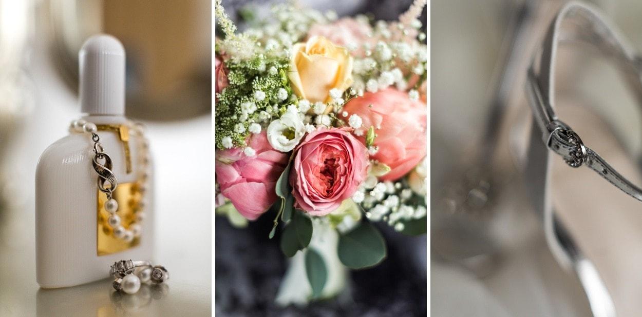 Wedding details at Oldwalls