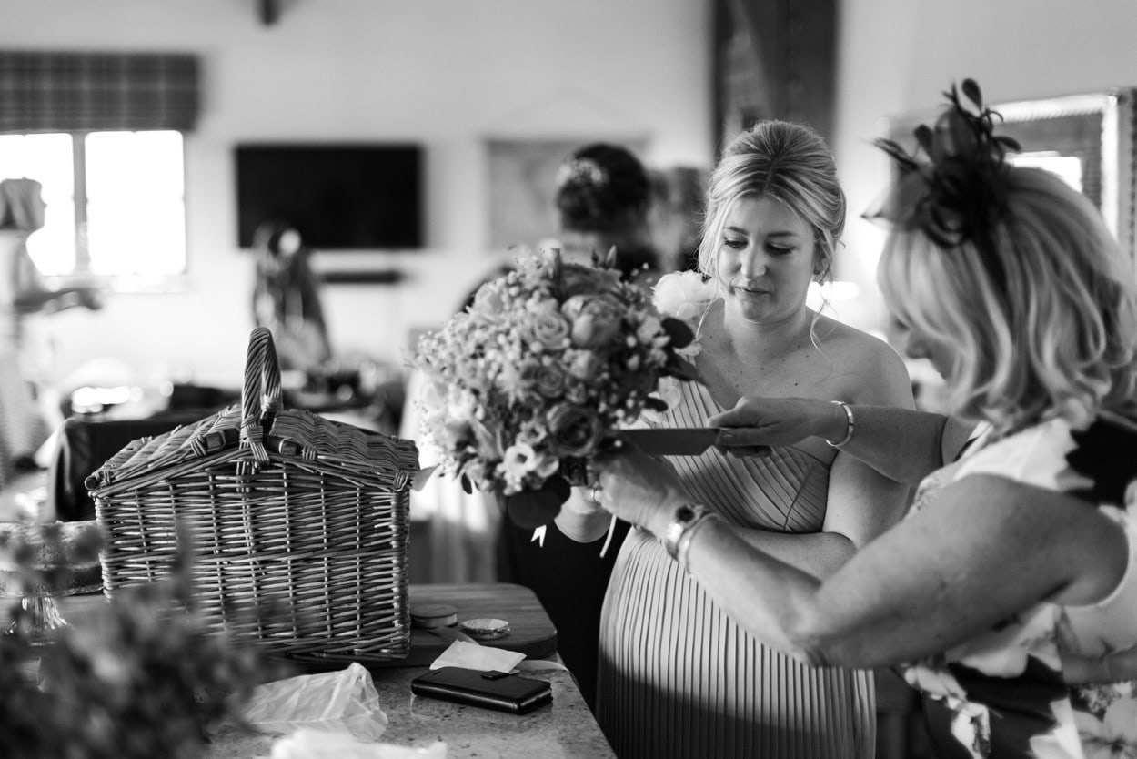 Bridal preparations at Mulberry House