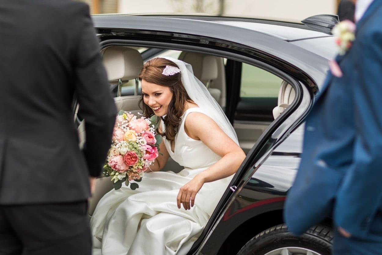 Wedding ceremony at Oldwalls