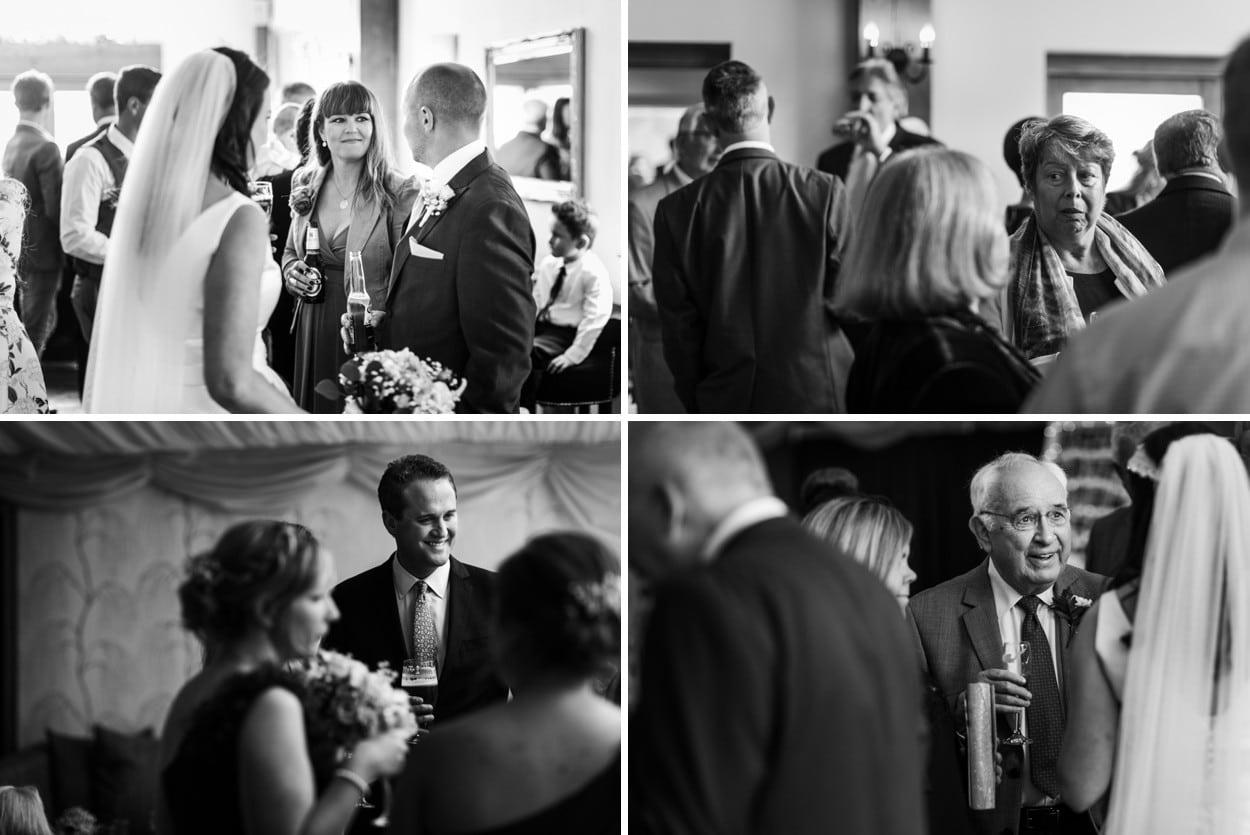 Wedding reception  at Oldwalls