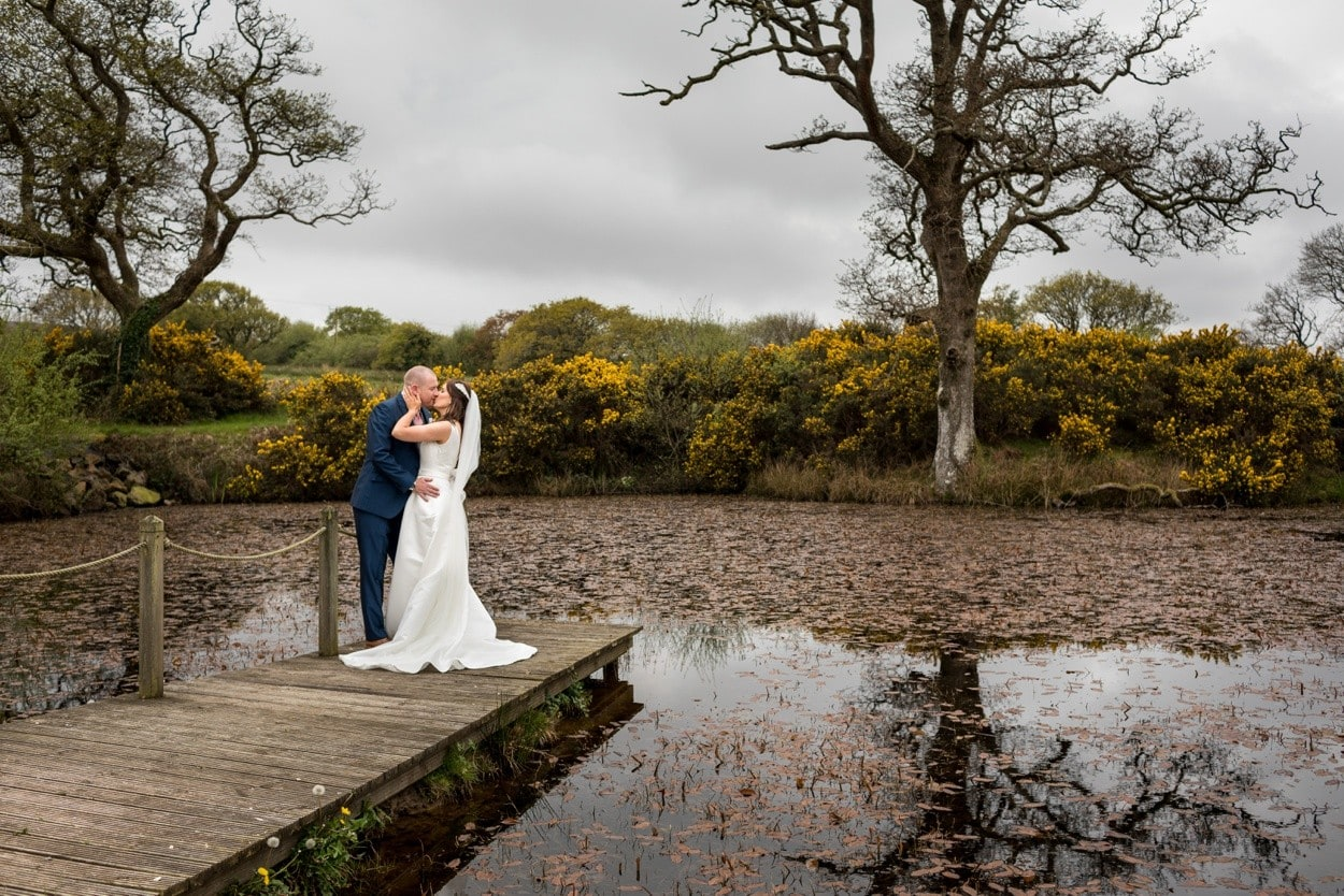 Bride and groom portraits at Oldwalls