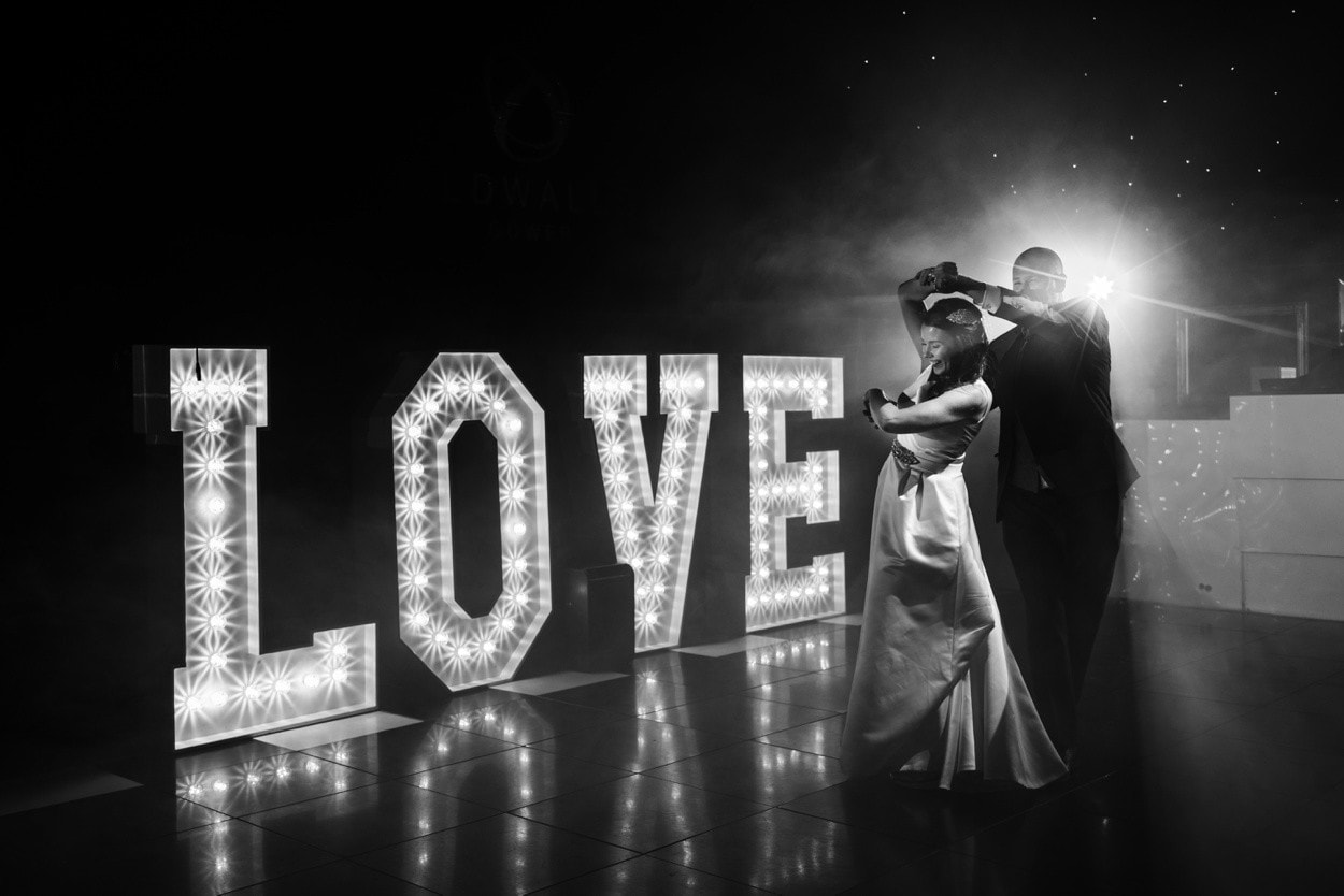 Wedding first dance at Oldwalls