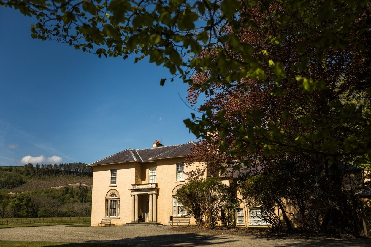 Llanerchaeron Stately Home