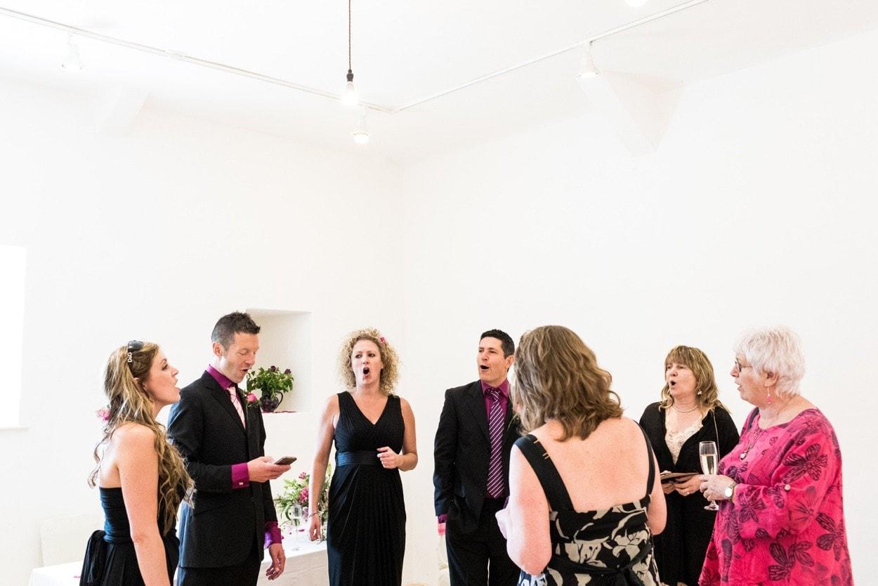same sex wedding at Llanerchaeron