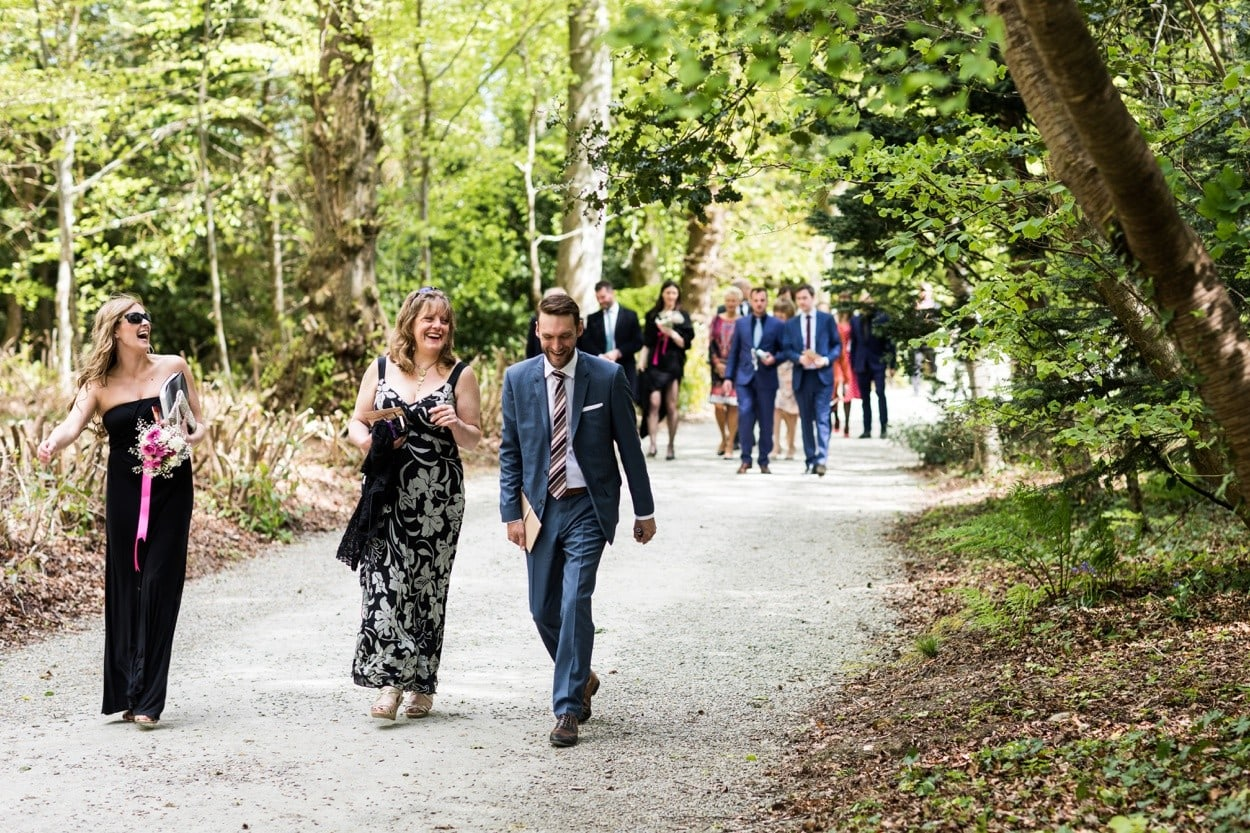 same sex wedding at Llanerchaeron