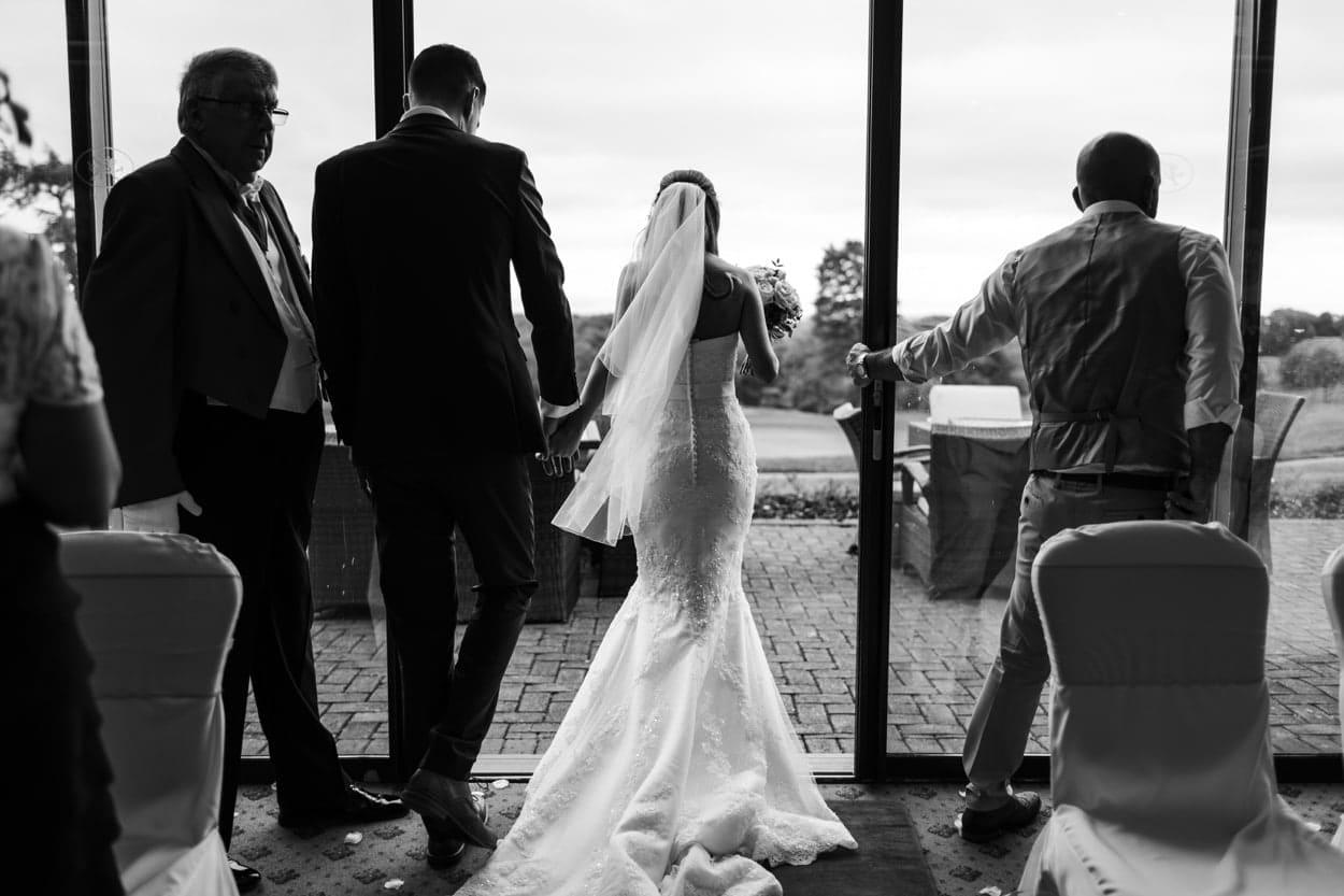 Wedding at The Lodge, Celtic Manor