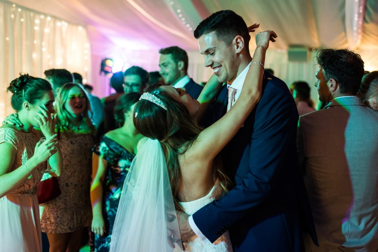 Wedding dancing at The Lodge, Celtic Manor