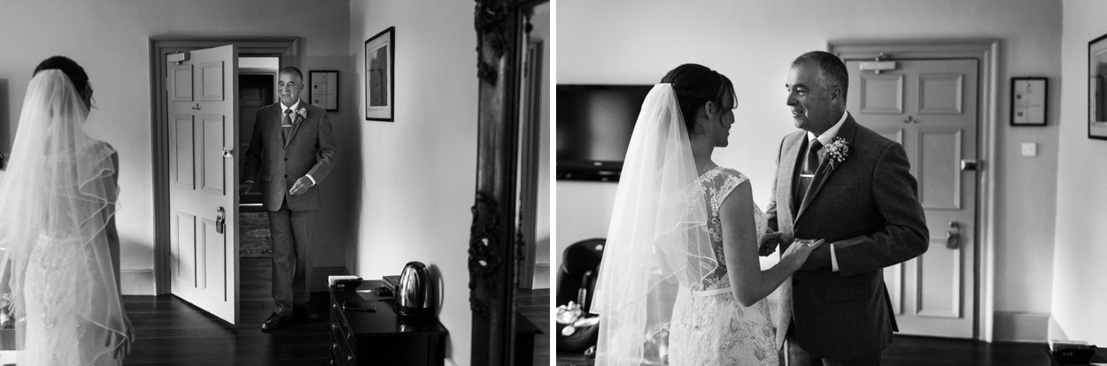 Wedding dressing at Hammet House