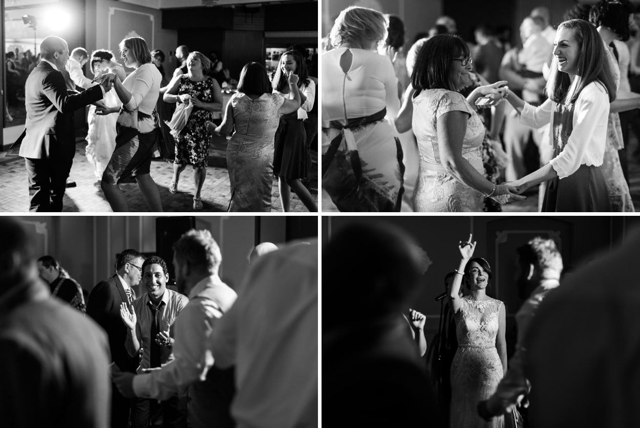 Wedding dancing at Hammet House