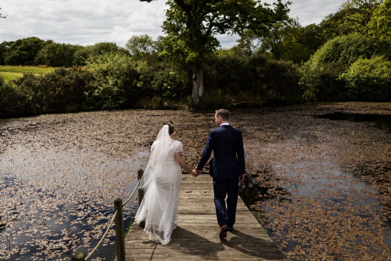 Spring wedding at Oldwalls