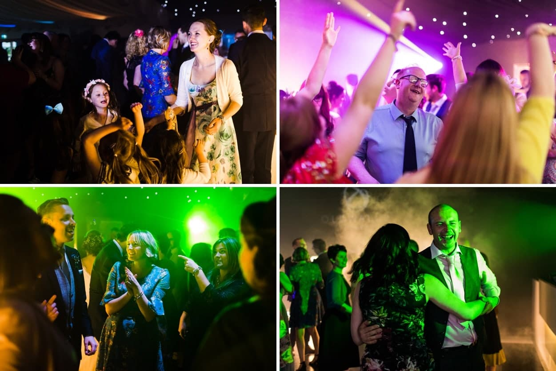 Wedding dancing at Oldwalls