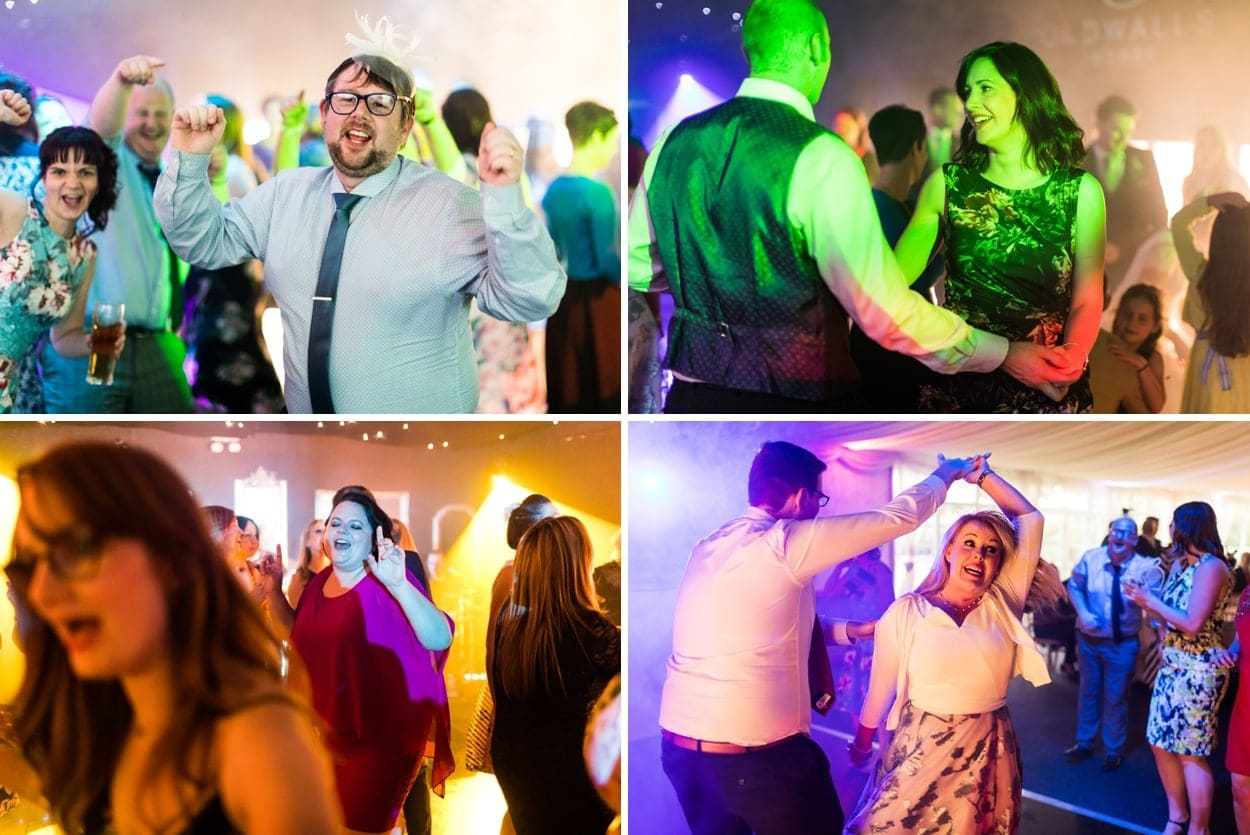 Wedding dancing at Oldwalls