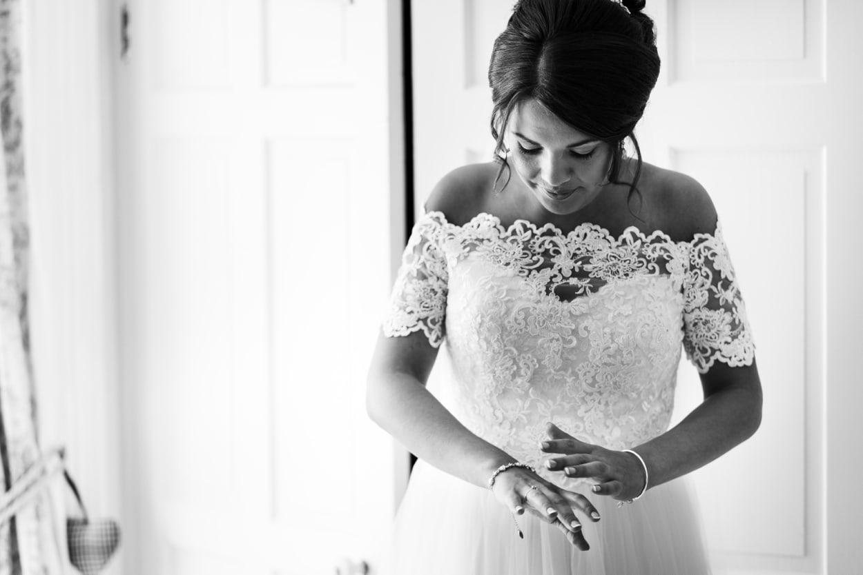 Bride make up in Pembrokeshire