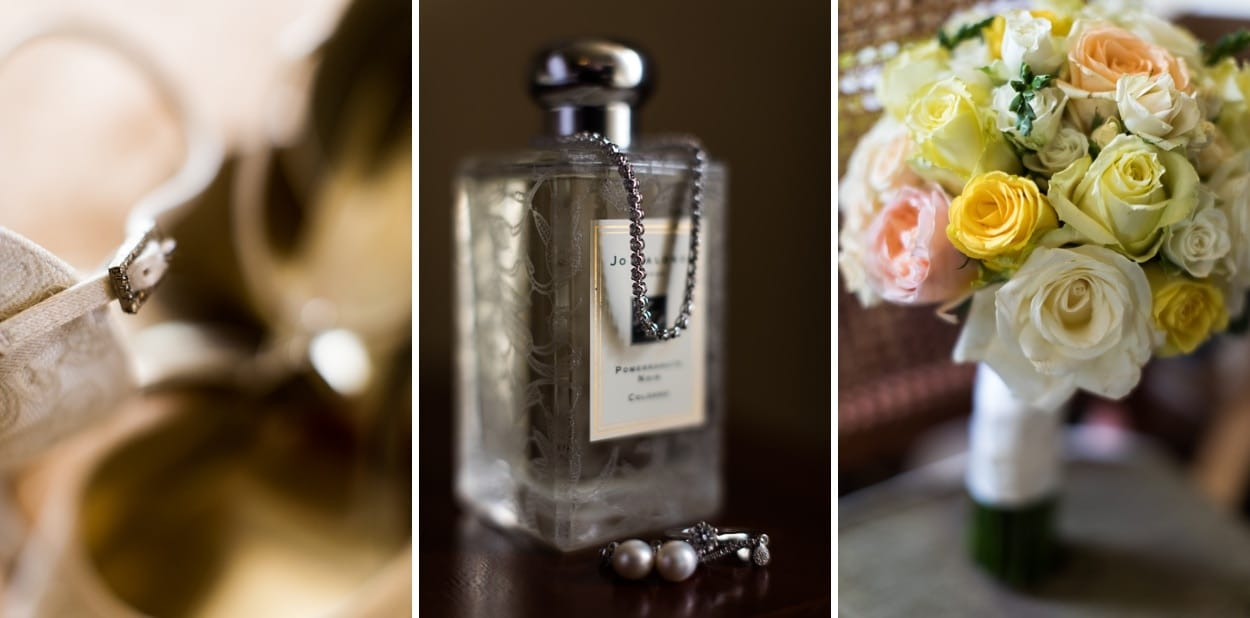 Bridal perfume and jewellery at Peterstone