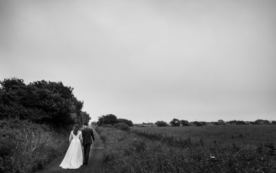 Rainy Day Wedding at The Corran – Ceirios & Edward