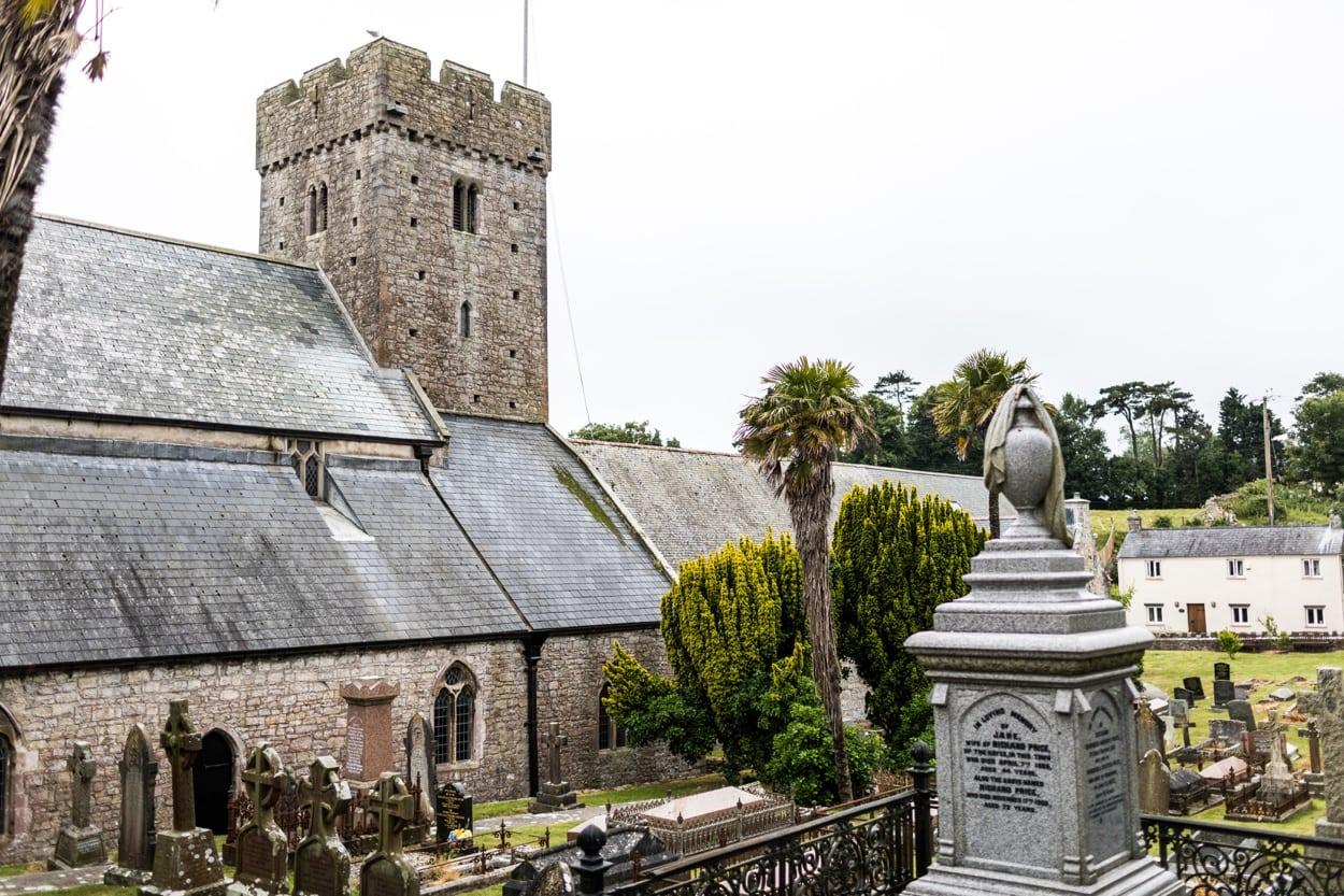 St Illtyds Church in Llantwit Major, South Wales