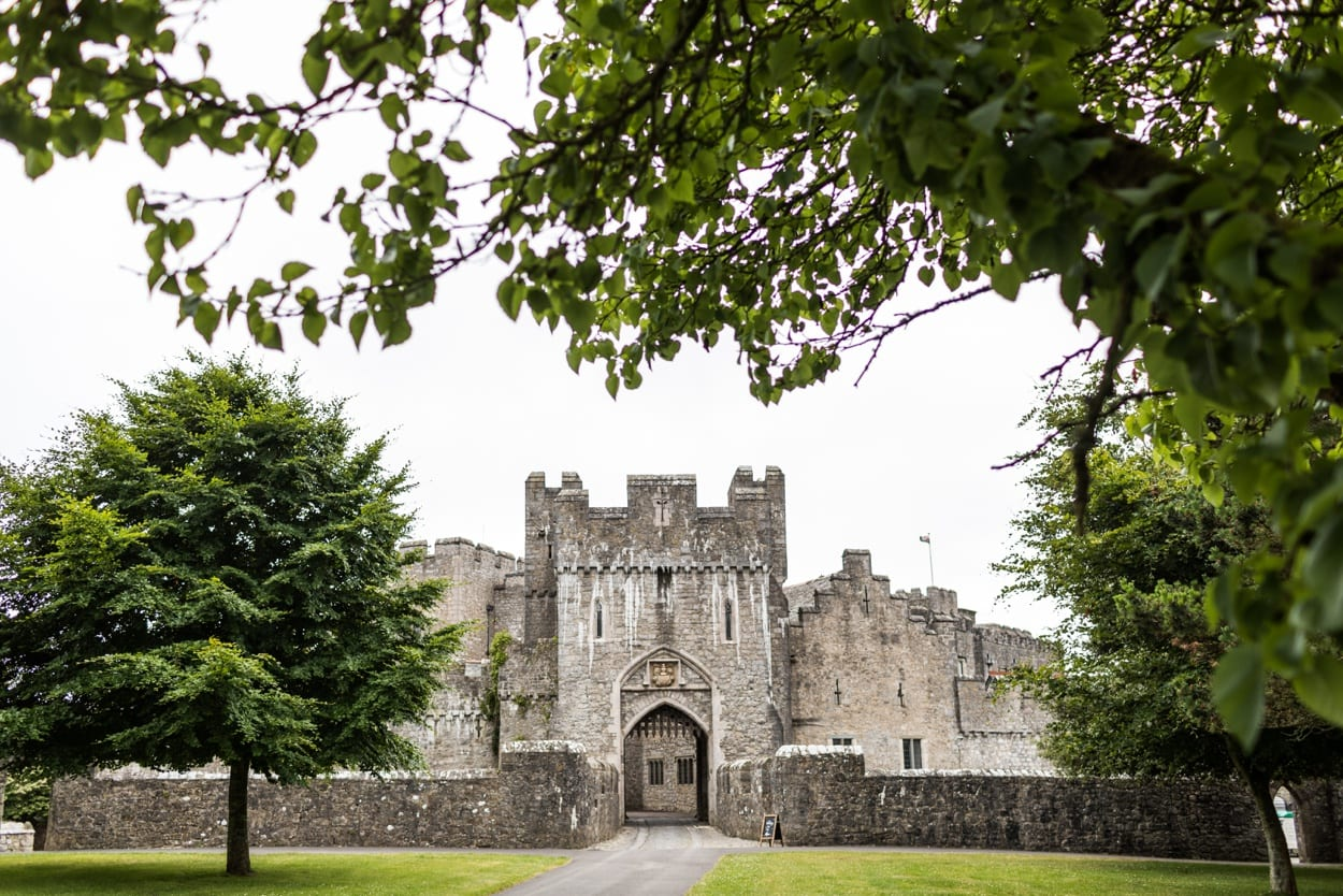 Wedding at St Donats Castle