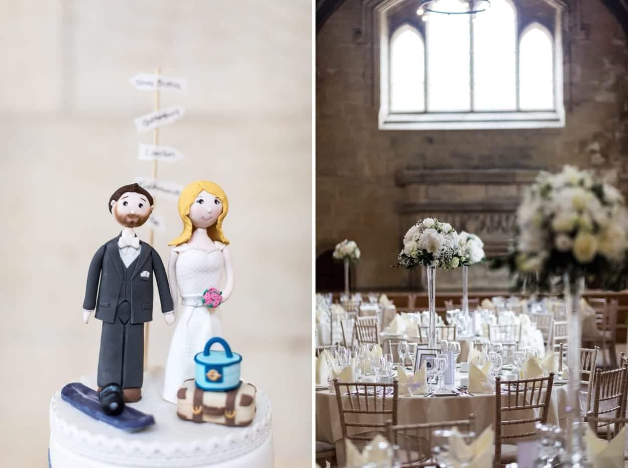 Wedding at St Donats Castle