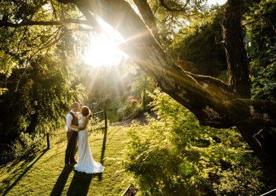 Summer Wedding at Caer Llan – Lalle & Vince