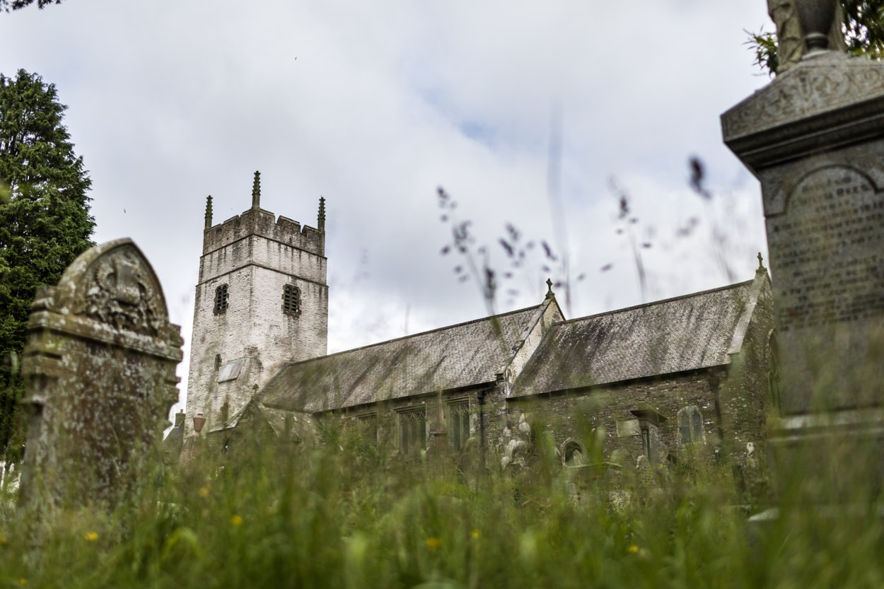 Llangynwyd Church in South Wales