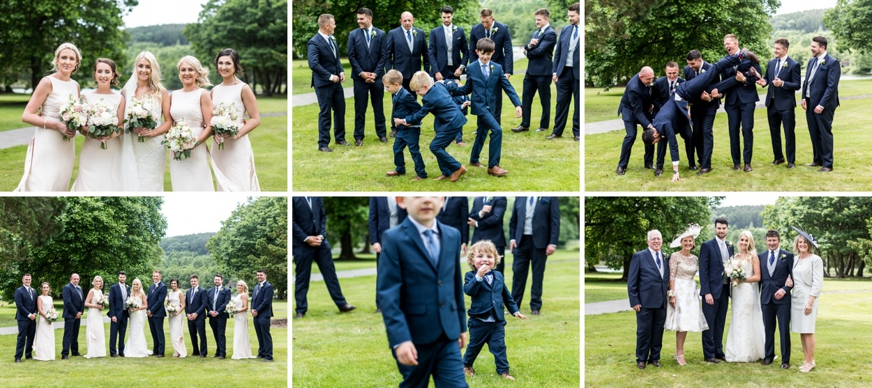 Summertime wedding at Hensol Castle in South Wales