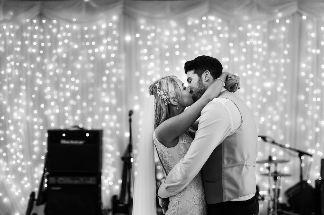 First dance at Hensol Castle in South Wales