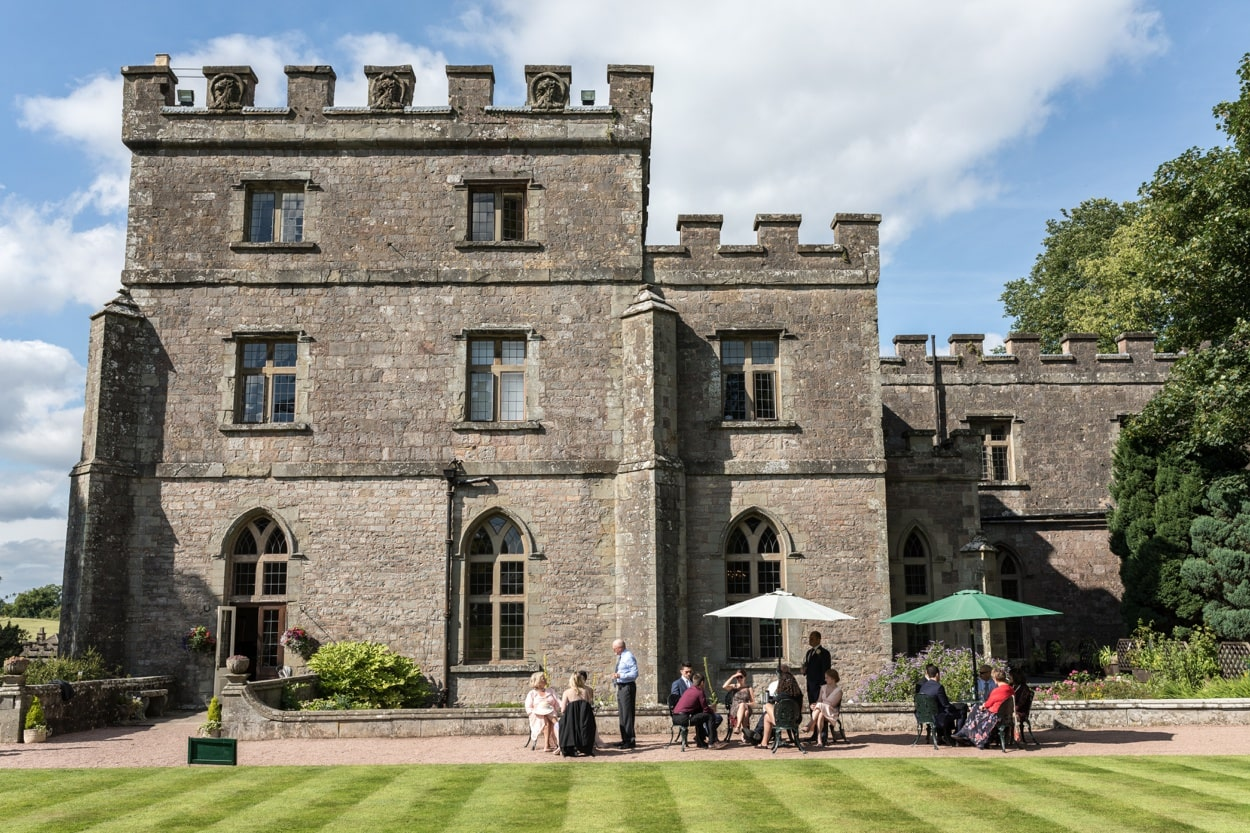 Clearwell Castle wedding