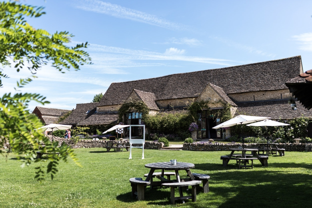 Great Tythe Barn in the Cotswolds