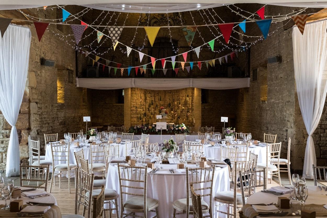 Wedding at Great Tythe Barn