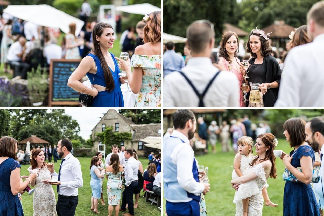 Wedding reception at Great Tythe Barn