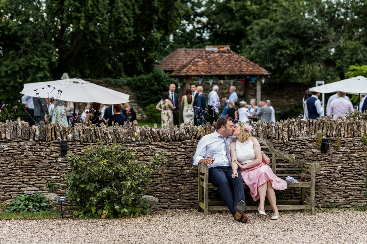 Wedding reception at Great Tythe Barn