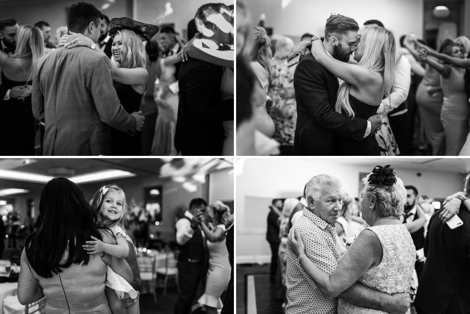 Wedding dancing at Hensol Castle in South Wales