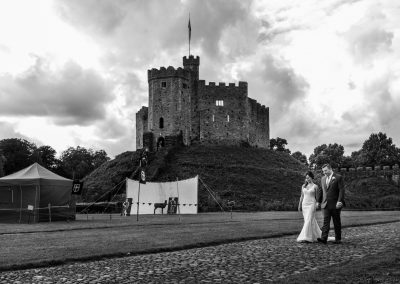 Cardiff Castle Wedding – Dawn & John