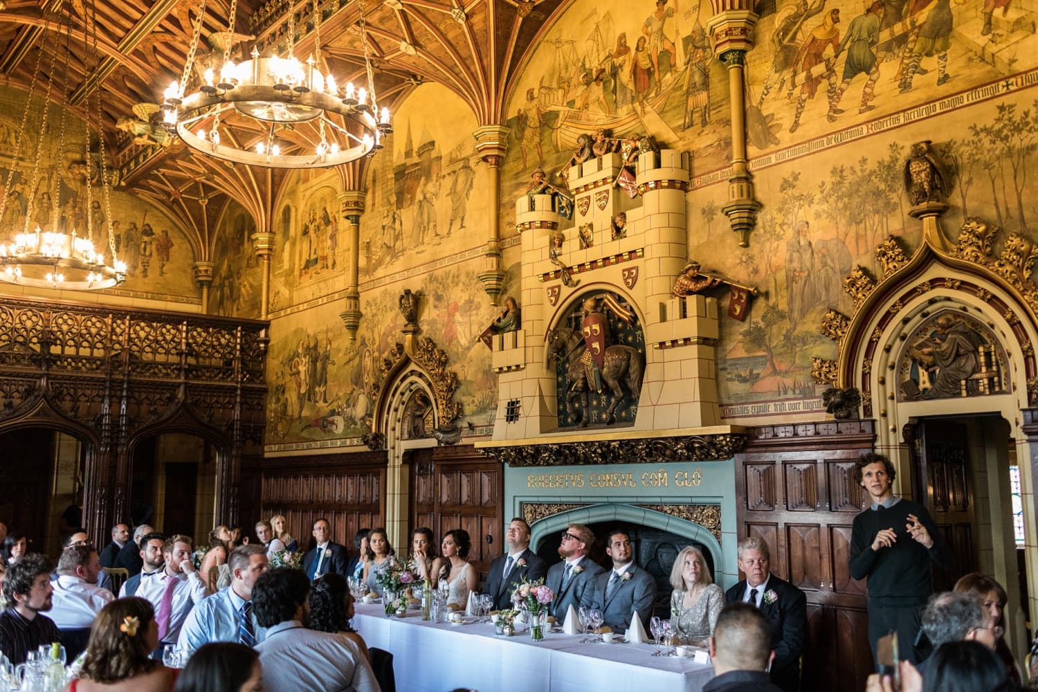 Wedding at Cardiff Castle