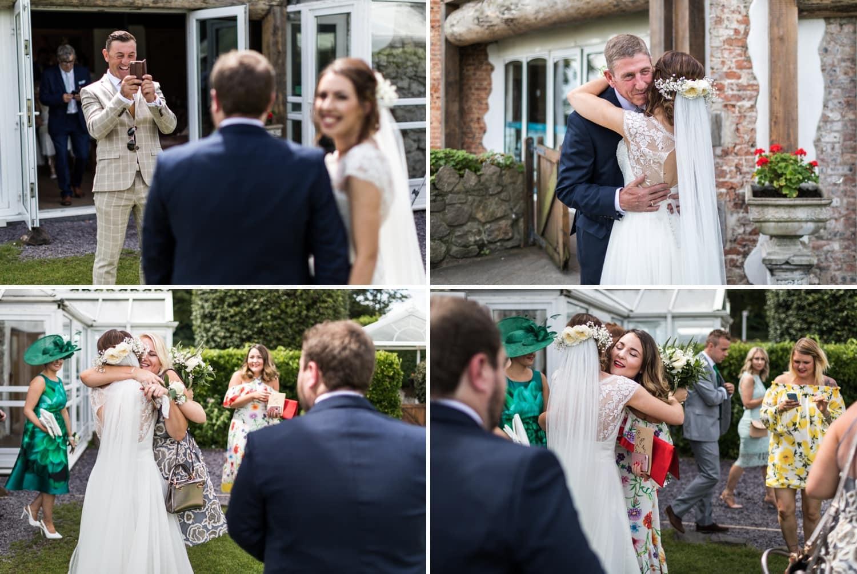 wedding guest congratualte