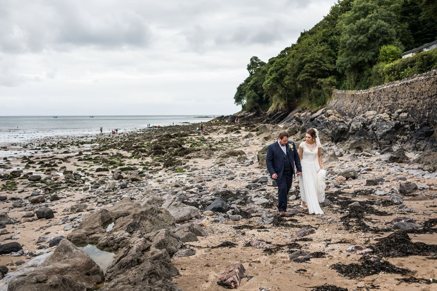 Oxwich Bay Wedding 290717038