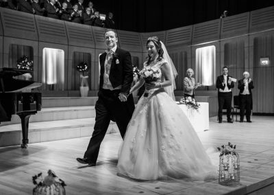 RWCMD Concert Hall Wedding – Suzanne & James