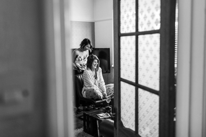 Bride make up for summer wedding at Pencoed House