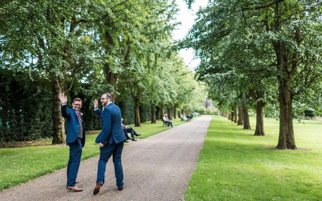 Same Sex Wedding in Cardiff – Joe & Robert