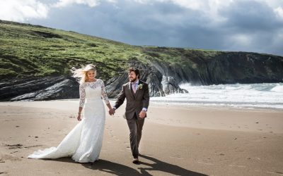 Mwnt Church and Pizza Tipi Wedding – Laura & Alex