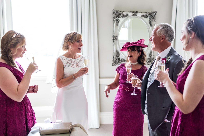 Summertime wedding at Nanteos