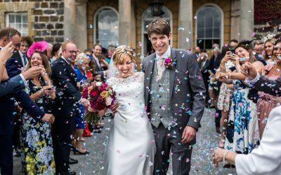 Summer Wedding at Nanteos – Katie & David