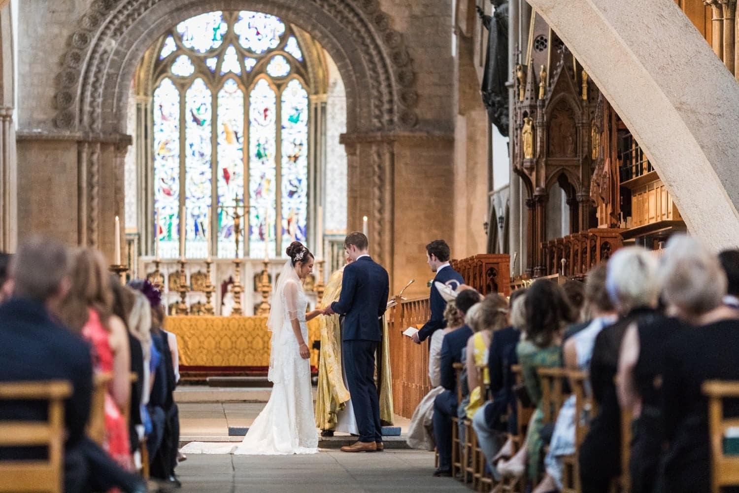 Llandaff Cathedral wedding