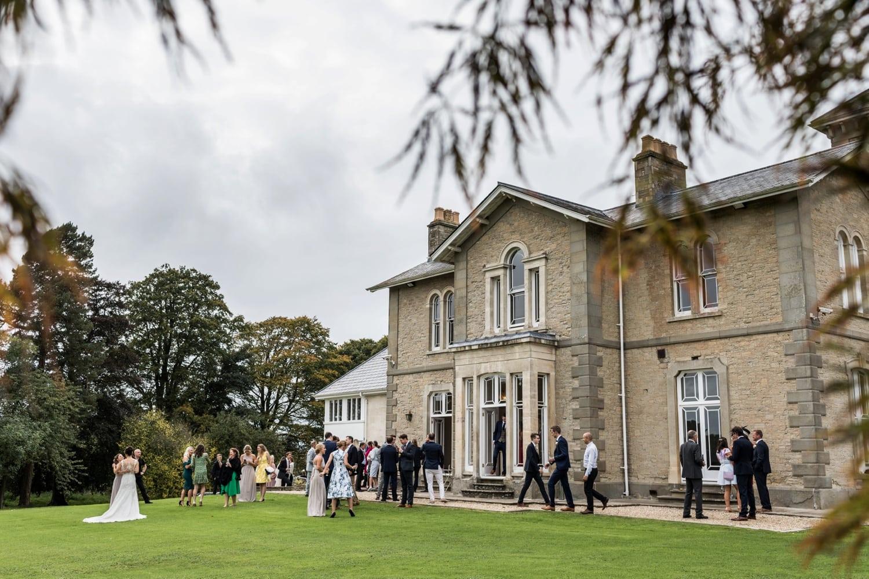 Wedding reception at St Tewdrics House